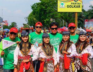 Reog Bank Karanganyar curi perhatian di Karnaval HUT RI